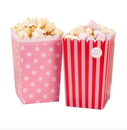 hochzeitsshop 8 popcornt ten in 2 designs. Black Bedroom Furniture Sets. Home Design Ideas