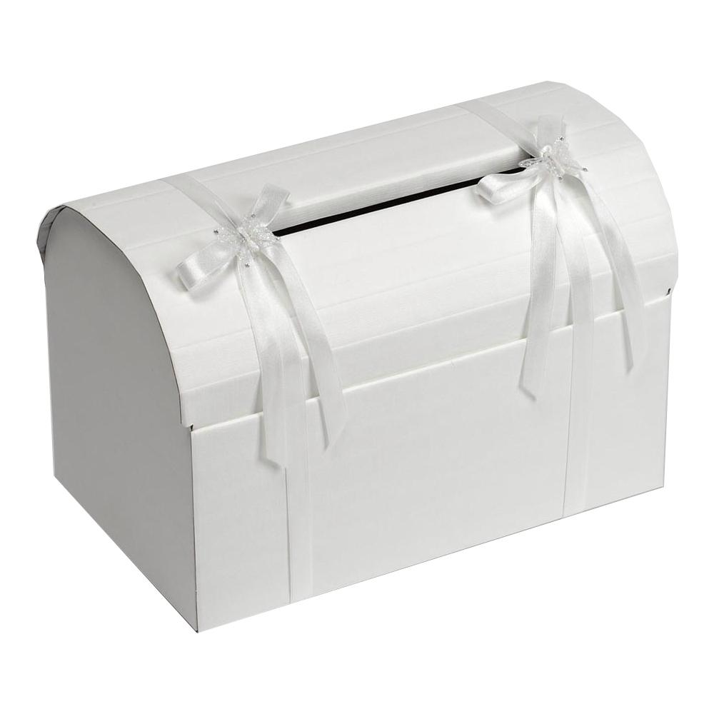 Hochzeitsshop Hochzeitsbox Elegant Weiss Fur Geldgeschenke