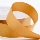 Satinband 10mm in gold  - 25 Meter Rolle