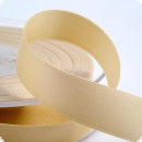 Satinband 10mm in creme - 25 Meter Rolle