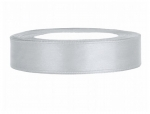 Satinband 12mm x 25m in Silber