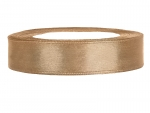 Satinband 12mm x 25m in Gold