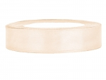 Satinband 12mm x 25m in Ivory