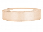 Satinband 12mm x 25m in Creme
