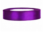 Satinband 12mm x 25m in Violett