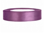 Satinband 12mm x 25m in Pflaume
