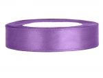 Satinband 12mm x 25m in Lavendel