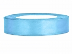 Satinband 12mm x 25m in Himmelsblau