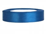 Satinband 12mm x 25m in Blau