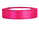 Satinband 12mm x 25m in Hot Pink