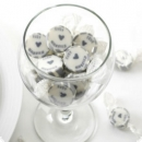 "ca. 50 Bonbons ""Just Married"" in silber"