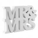 "Aufsteller ""Mr. & Mrs."""