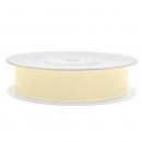 Chiffonband 12mm x 25m in Creme