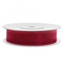 Chiffonband 12mm x 25m in Rot