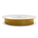 Chiffonband 6mm x 25m in Gold