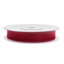 Chiffonband 6mm x 25m in Rot