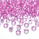 100 Dekodiamanten 12mm Rosa
