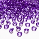 100 Dekodiamanten 12mm Violett