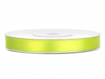 Satinband 6mm x 25m in Neon-Grün