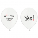 "10 Luftballons ""Will you marry me?"""