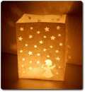 "10er Pack Candle Bags ""Stardust"" in weiß"