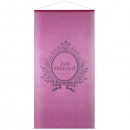 "Großer Banner ""Just Married"" in pink 1m x 2,50m"