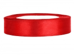 Satinband 12mm x 25m in Rot